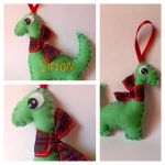 Personalised Nessie Plushie - Loch Ness Monster by SayakaSae