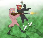 Two Birds and a Shotgun... by Christina-The-Weird
