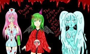 Vocaloid + Horror  ||  Thank You Art || by Bloody-Prison-Rose