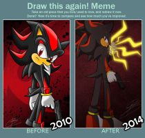 Draw this again -Shadow- by BloomPhantom