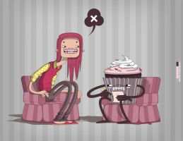 Girl's best psychologist....dr.Cupcake by windmile