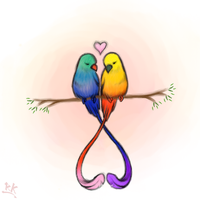 Love Birds by RauniKai