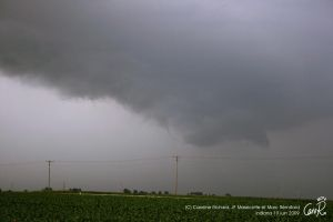 Funnel cloud Indiana by CaroRichard