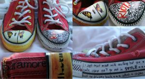 Paramore Shoes by LuvMangaFF7