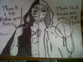 There is a hell believe me I've see it BMTH x by Animenoheihokon