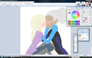 .:Sweet Kisses WIP:. by alexpc901