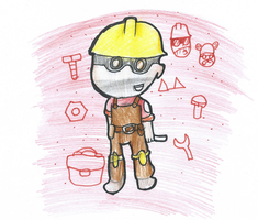 engineer chibi by htfloveAPH