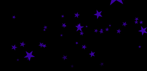 MMD Falling Purple Stars Effect +DL by ChestNutScoop