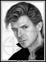 David Bowie I by Kalasinar