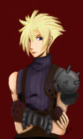 Cloud Strife by dementedmonkey