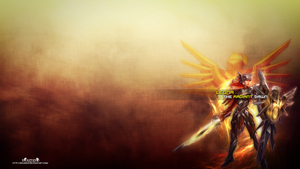LoL - Iron Solari Leona Wallpaper ~xRazerxD by xRazerxD