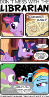 Don't Mess With The Librarian by DaringDashie