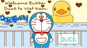 Doraemon and the Rubber Duck !! by doraemonbasil