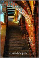The Stairway by Arte-de-Junqueiro