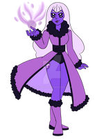 (Gem Fusion) Purple Kunzite by HikumiRin