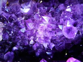 Amethyst Cluster by GrotesqueDarling13