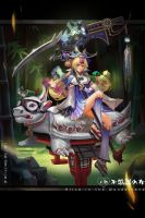 Alice in Japanese wonderland by Remontant