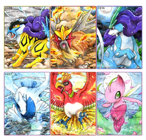 Johto Legends by gaarachaosqueen