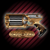 Steampunk NERF by IllustratorG