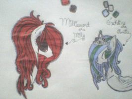 Milliescent n Jackeline by Candy-Swirls