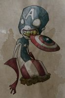 Captain America by Argelittee