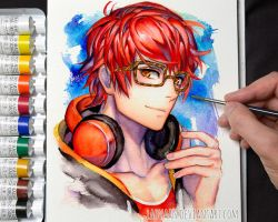 Mystic Messenger 707 + Video by Laovaan
