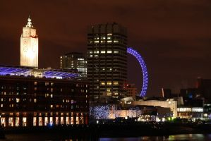 London eye and OXO by 365erotic
