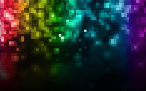 Mosaic Rainbow Wallpaper by TitusBoy25