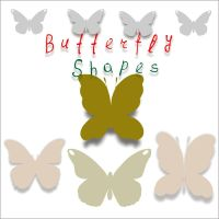 butterfly custom shapes by feniksas4