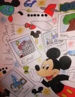 Mickey's Holiday by chloesmith8