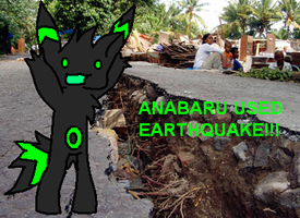 ANABARU USED EARTHQUAKE by AgentAnaM