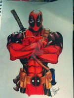 Deadpool by Lustuad