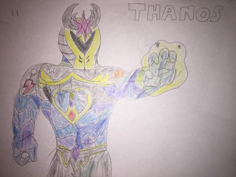 Thanos the creator of EQUESTRIA  by Hulk61