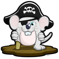 Pirate Mouse by smhill