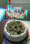 Happy Birthday, Ion! (Anaglyph) by Hiscules