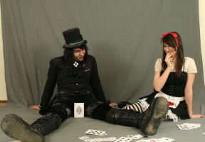 Dark alice and Mad hatter 24 by MajesticStock