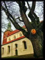 Church of Valmiera town... by Yancis