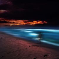 into the ocean by utopic-man