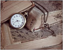 the key of time by LuciaBlueFlower