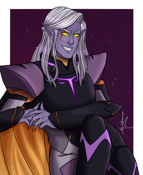 You've been summoned - Prince Lotor [VLD] by CristinaAnaya96