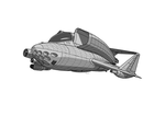 Shield Thane Light Aerospace Fighter by TheCentipede
