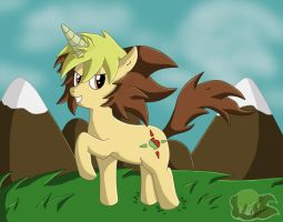 Apollo Sun As A Pony by Flame-of-Icarus
