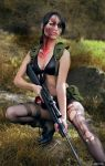 Quiet from Metal Gear Solid V.: The Phantom Pain. by rocha86