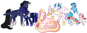 Royal Family Portrait by AlexKingOfTheDamned