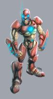 Iron man color by Frozforest