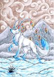 Ice Creature by ARVEN92