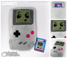 GameBoy Plush by ChannelChangers