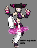 Street Fighter Juri by ObsidianWolf7