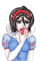 Snow White Rukia by DevilishMirajane