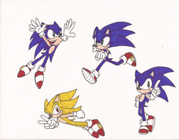Page of Sonic 2 by jrc1120